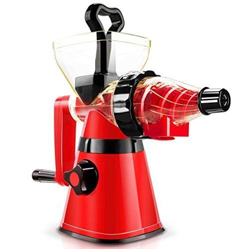 SHINKODA SK-326H Manual Cold Press Slow Juicer – Black/Red